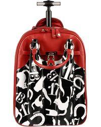 Moschino - Wheeled Luggage - Lyst