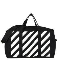 feb471eac9b3 Lyst - Off-White C O Virgil Abloh Travel   Duffel Bag in Black for Men