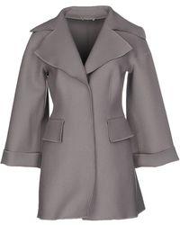 Alberta Ferretti - Full-length Jacket - Lyst