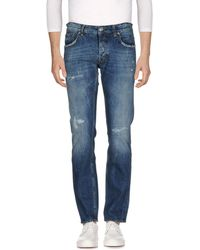 Department 5 - Denim Pants - Lyst