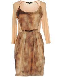 Elisabetta Franchi | Short Dress | Lyst