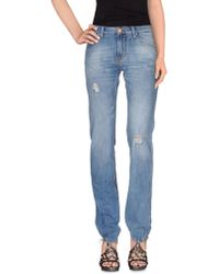 Acht - Denim Trousers - Lyst