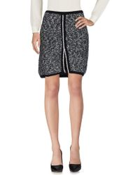 Vicedomini - Knee Length Skirt - Lyst