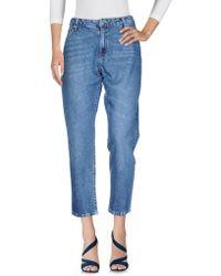 Minimum - Denim Trousers - Lyst