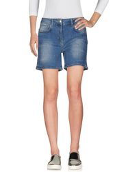 Scee By Twin-set - Denim Shorts - Lyst