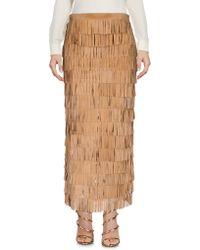 Caban Romantic - Long Skirt - Lyst