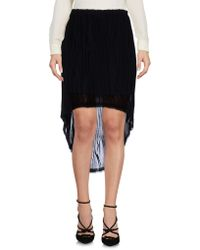 Replay - Knee Length Skirt - Lyst