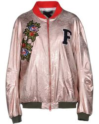 Femme By Michele Rossi - Jacket - Lyst