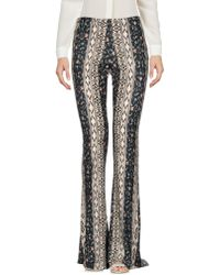 Black Coral - Printed Jersey Flared Leggings - Lyst