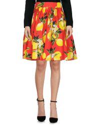 Dolce & Gabbana - Knee Length Skirt - Lyst