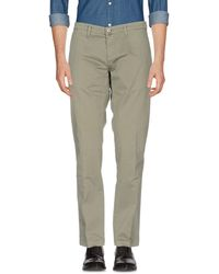 Gallery - Casual Trouser - Lyst