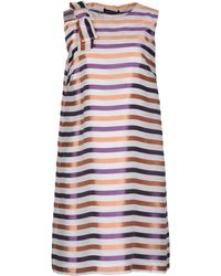 Fabrizio Lenzi - Short Dress - Lyst