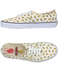 Vans - Peanuts Authentic Trainers - Lyst