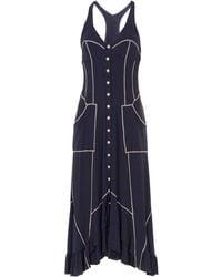 22 Maggio By Maria Grazia Severi - 3/4 Length Dress - Lyst