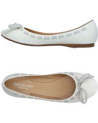 Donna Più - Ballet Flats - Lyst