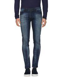Low Brand - Denim Trousers - Lyst