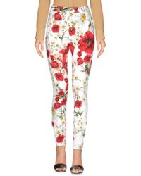 Dolce & Gabbana - Casual Trousers - Lyst