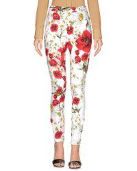 Dolce & Gabbana - Casual Trouser - Lyst