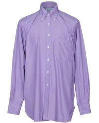 Hilditch & Key - Shirts - Lyst