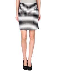 Richard Nicoll - Knee Length Skirt - Lyst