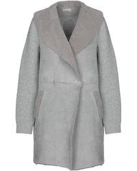 Bruno Manetti - Overcoat - Lyst