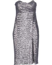 Lb - Short Dress - Lyst