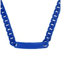 MM6 by Maison Martin Margiela - Necklace - Lyst