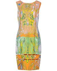 Emilio Pucci - Cutout Printed Crepe Dress - Lyst