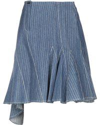 Clips - Denim Skirt - Lyst