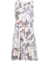 Brooks Brothers - Short Dresses - Lyst