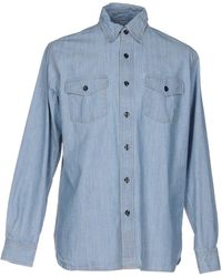 Jean Shop - Denim Shirt - Lyst