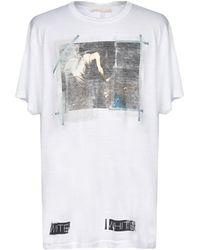 Off-White c/o Virgil Abloh - T-shirt - Lyst