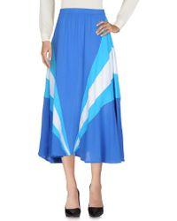 Koza - 3/4 Length Skirt - Lyst