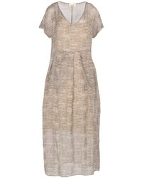 Niu - Long Dress - Lyst