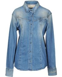 2W2M - Denim Shirt - Lyst