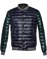 Officina 36 - Synthetic Down Jacket - Lyst