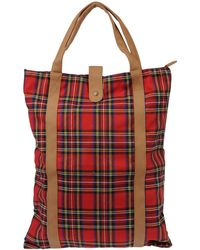 Pieces - Large Fabric Bag - Lyst