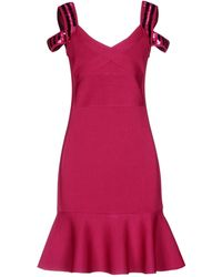 Guess - Short Dress - Lyst