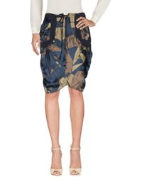 Malloni - Knee Length Skirts - Lyst