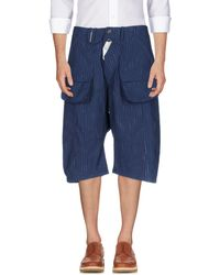 John Galliano - 3/4-length Shorts - Lyst