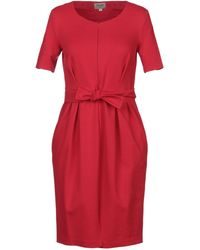 Armani - Knielanges Kleid - Lyst