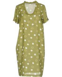 Baroni - Short Dress - Lyst