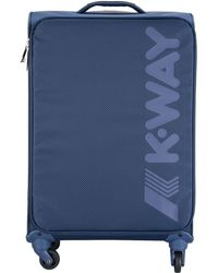 K-Way - Wheeled Luggage - Lyst