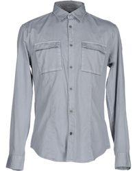 John Varvatos - Shirts - Lyst