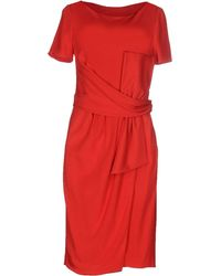 Moschino - Knee-length Dress - Lyst