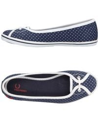Fred Perry - Ballet Flats - Lyst