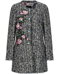Femme By Michele Rossi - Coat - Lyst