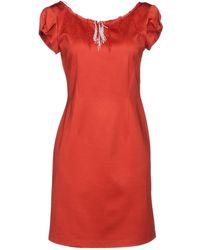 Roberta Scarpa - Short Dress - Lyst