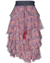 Philosophy Di Lorenzo Serafini - 3/4 Length Skirt - Lyst