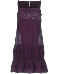 Pianurastudio - Short Dress - Lyst